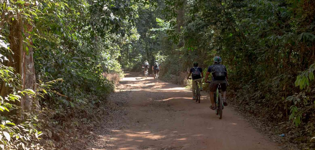 Phnom Kulen Cycling Bike Rides