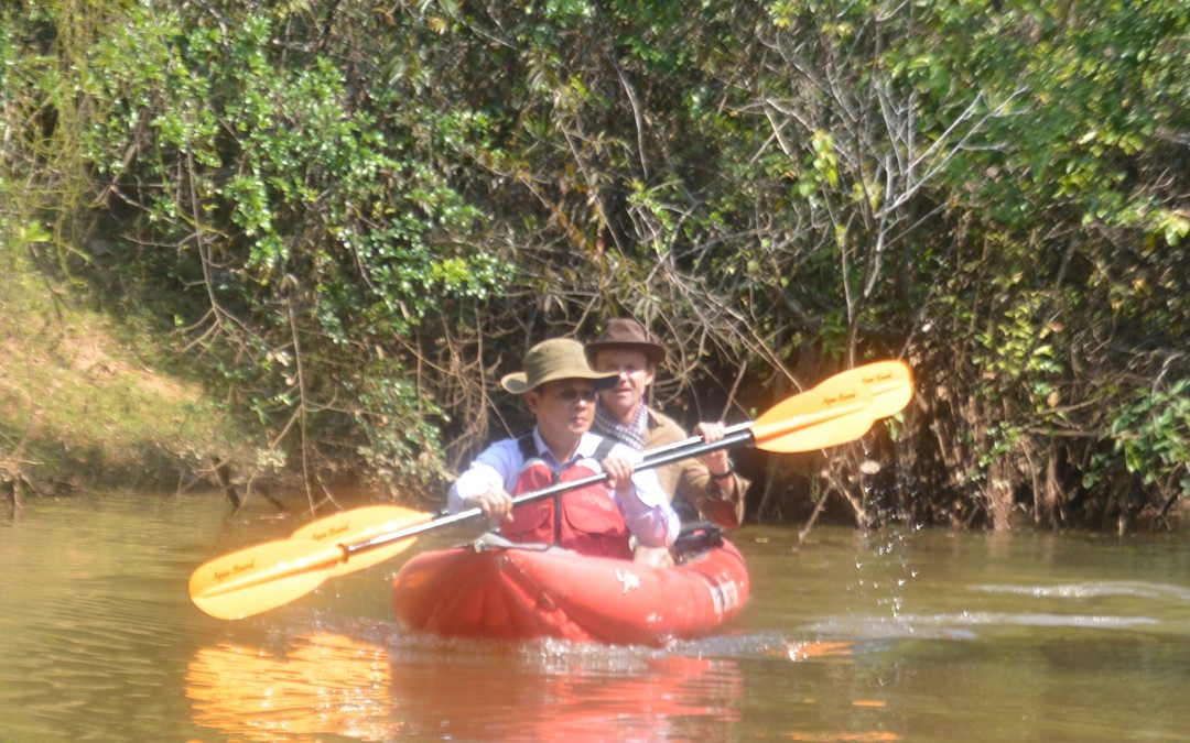 An Angkorian Paddle